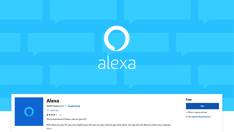 Alexa in the PC version is now available in Windows Stora – oTechnice cz