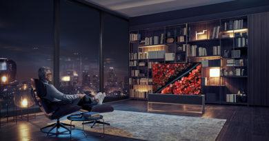 LG překvapilo technický svět, představilo designovou televizi se svinovacím displejem